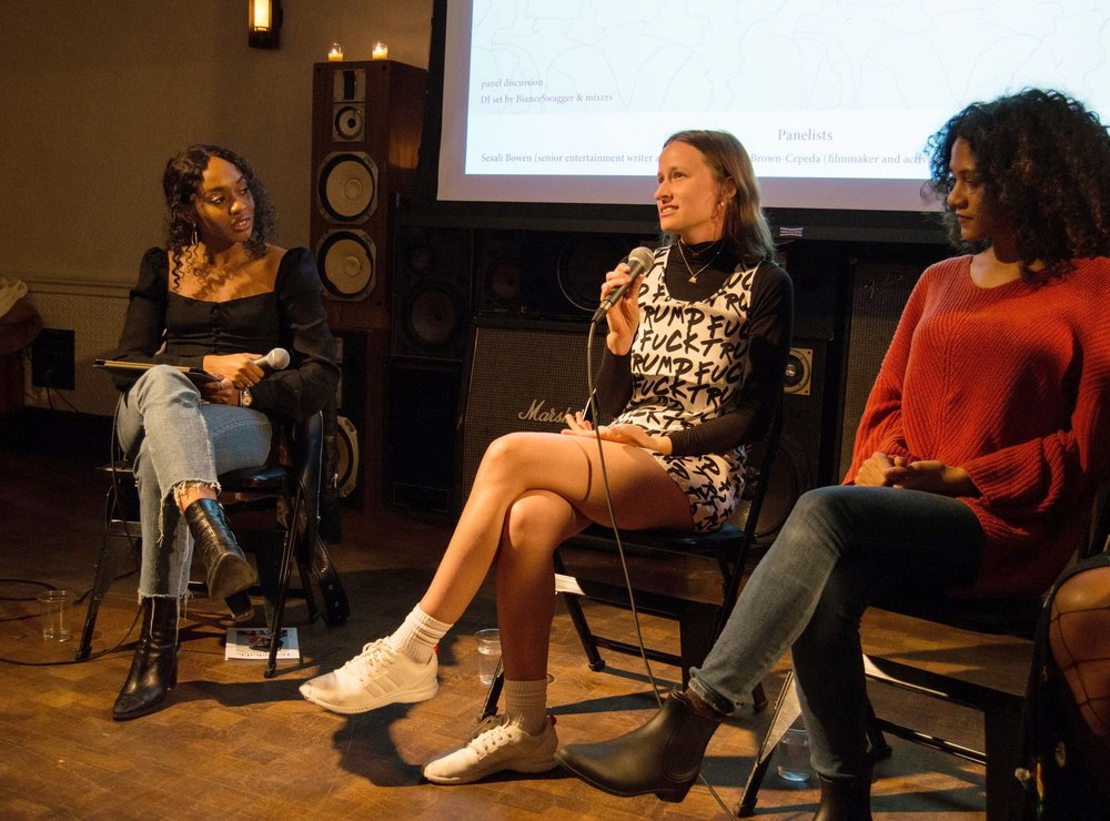 """""""Disrupting the Narrative"""" panel discussion at Ace hotel, New York"""
