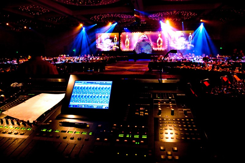 A/V, Lighting and Staging