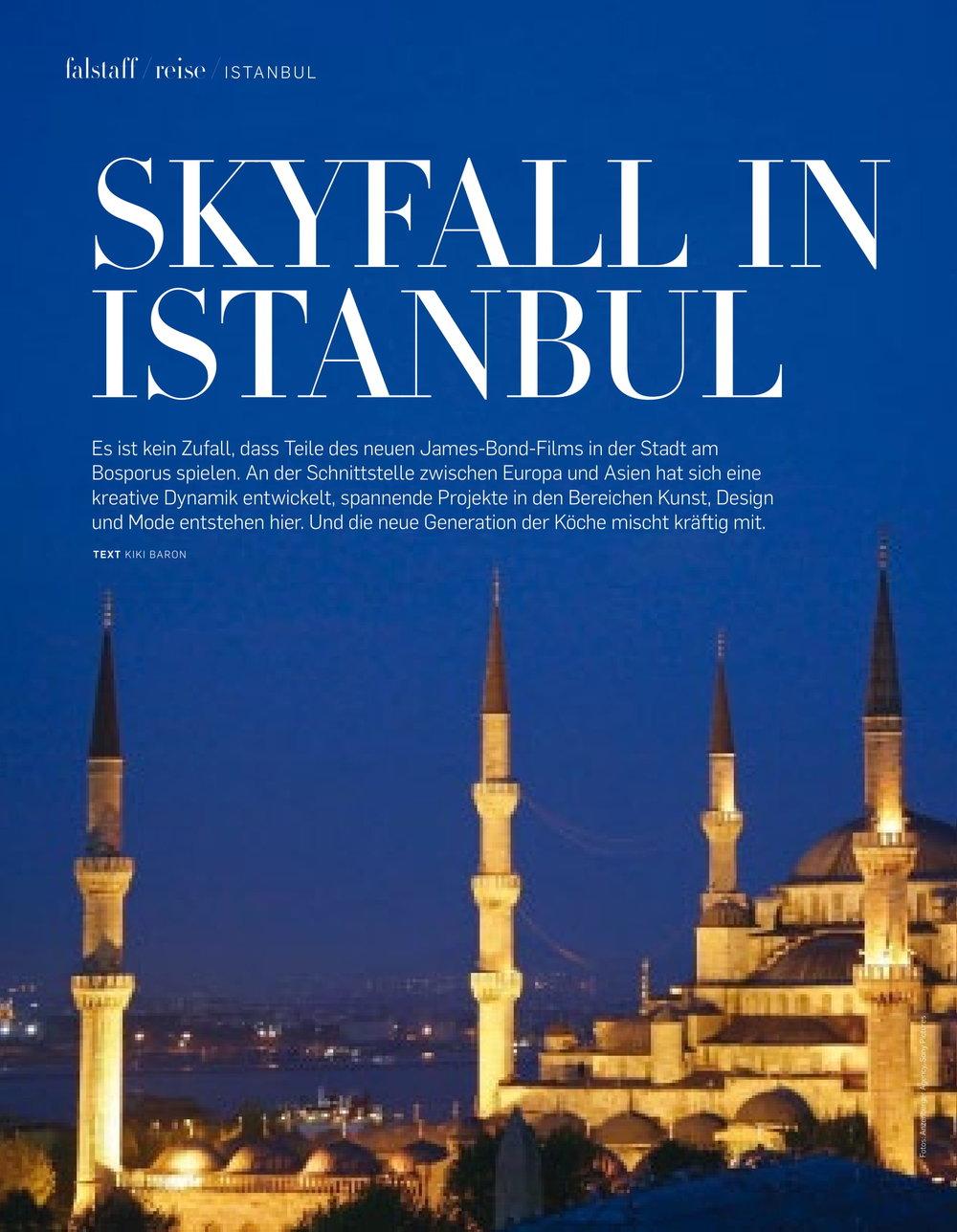 Istanbul Falstaff November 2016