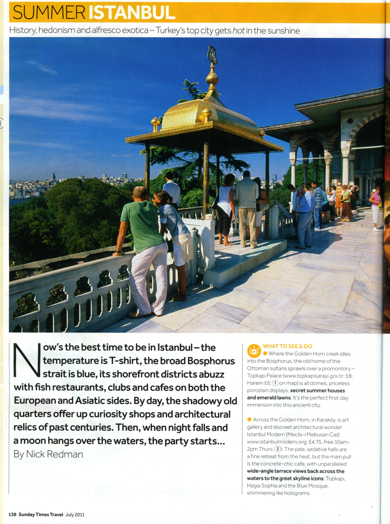 Sunday Times Travel July 2011