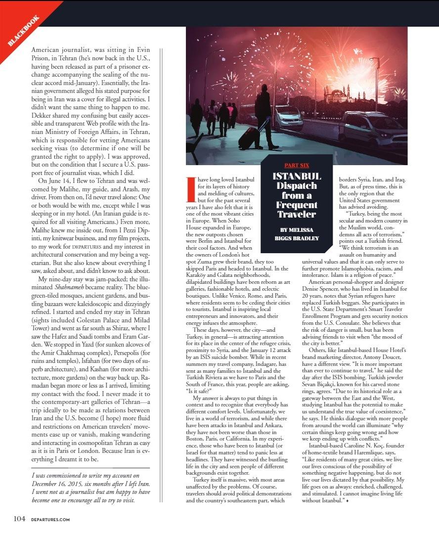Departures Magazine March 2016