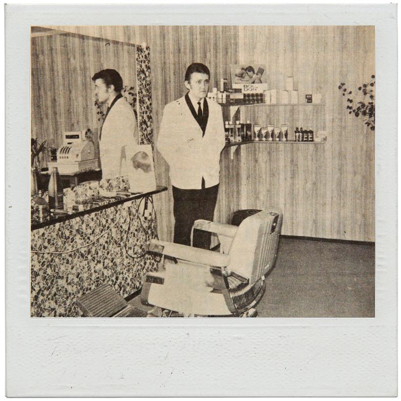 Åpning av salongen 12. februar 1971