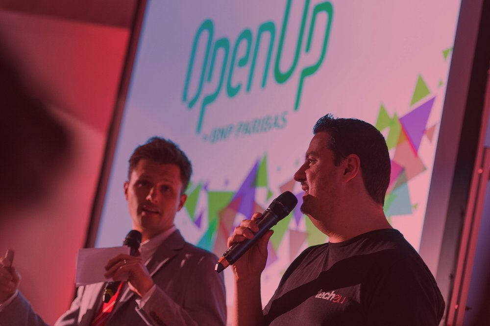 Jason McDonald and Robin Wauters at OpenUp BNPP kick-off event copy.jpg