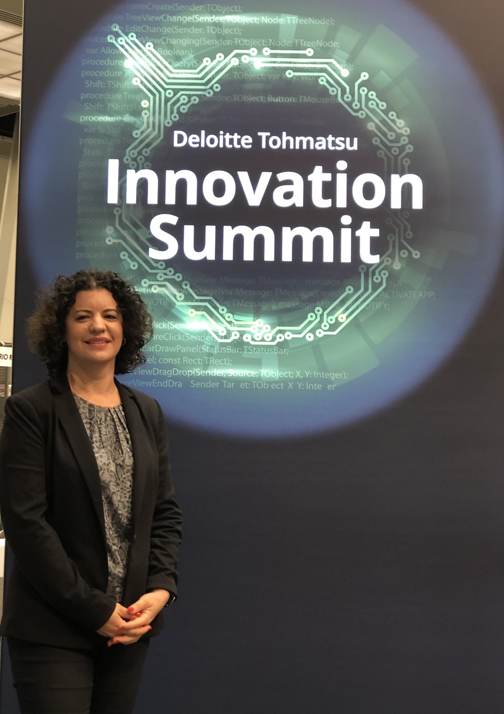 - September 2018, Presenting Pink Of View in Deloitte International Innovation Summit,Tokyo