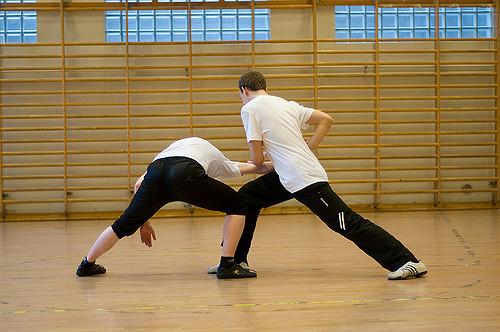 Wu Shu - Pri cvičení sa deti môžu zoznámiť so základmi čínskeho WU SHU a neskôr čerpať z týchto poznatkov v akomkoľvek športe, pohybovom odvetví, alebo vytrvať pri ňom až do konca života, pretože WU SHU kung fu je v Číne populárne aj v pokročilejšom veku hlavne pre jeho zdravotné účinky a cestu k harmónii.Určené pre: 1.stupeňČas: 60 minNáročnosť: stredná