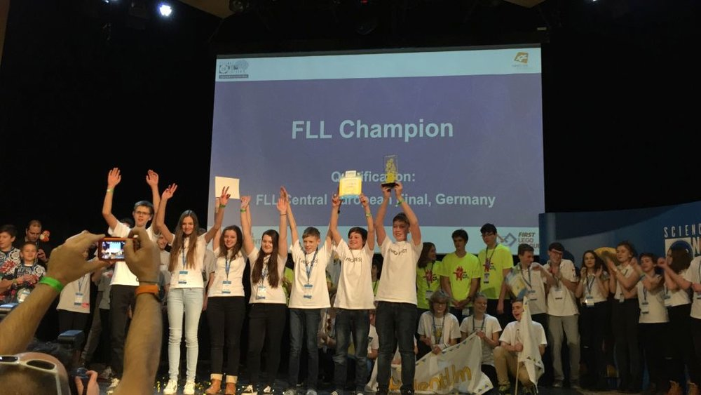 4.-6.2.2017 – Semifinal V4 First Lego League