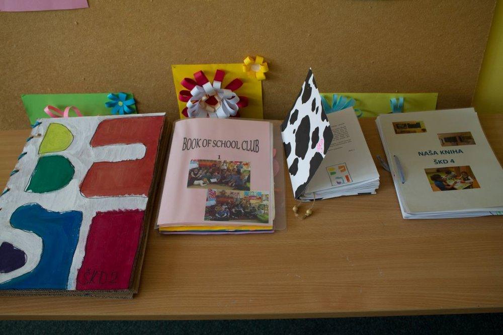 Výroba spoločnej knihy v ŠKD