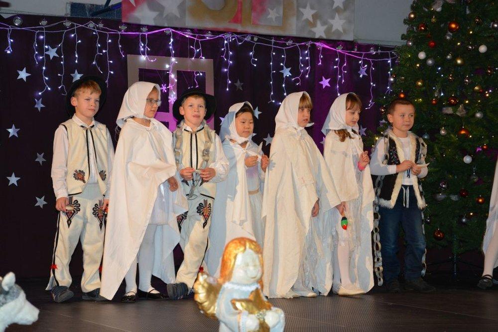 Vianočný večierok 1.- 2. ročník