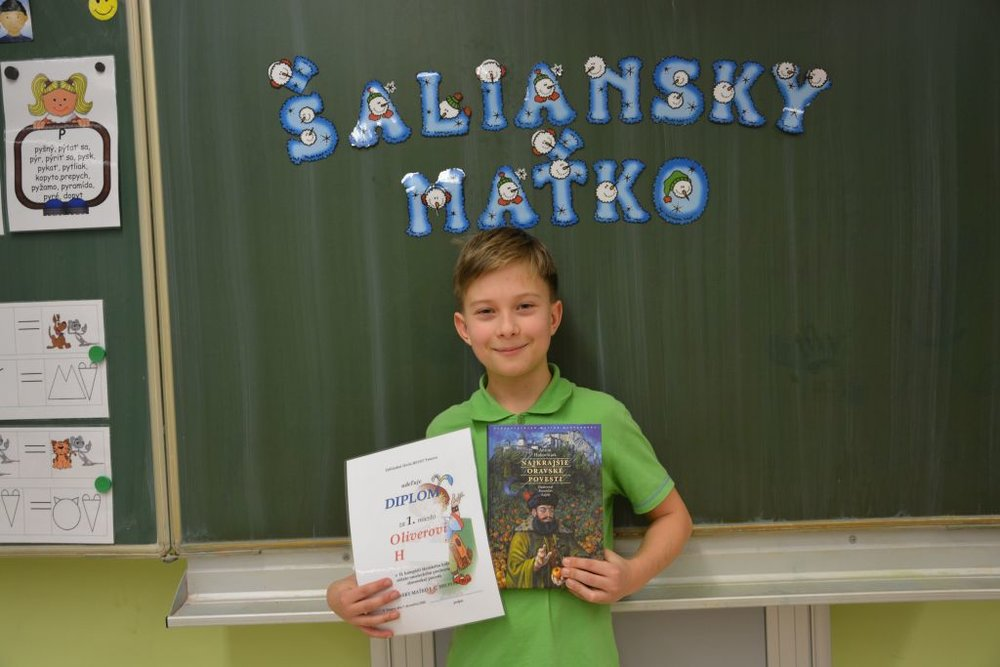 "7.12.2016 – Competition ""Šaliansky Maťko"""
