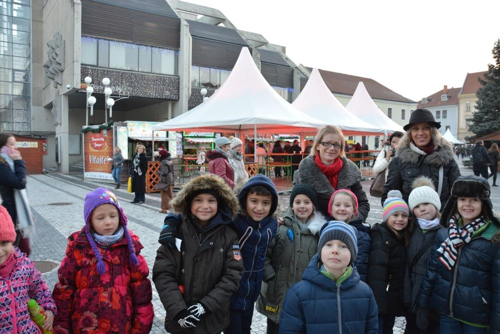 6.12.2016 - Performance at Christmas Market in Trnava