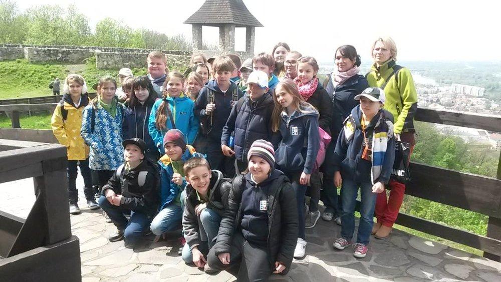 28.04.2016 Výlet na Trenčiansky hrad