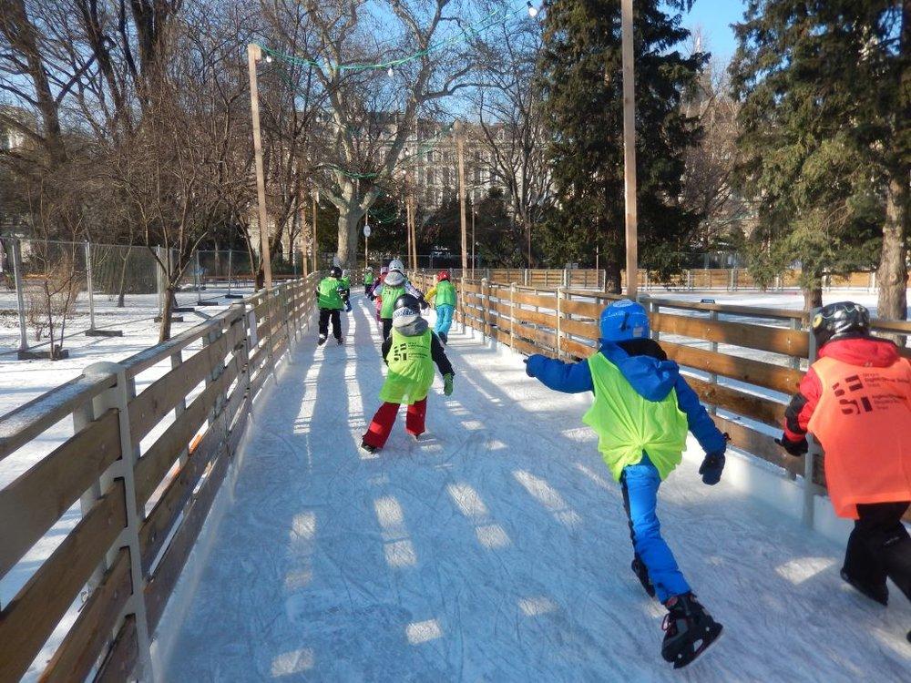 22.01.2016 Korčuľovanie vo Viedni