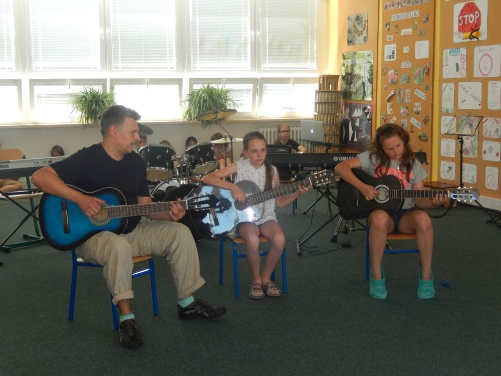 Záverečný koncert Hudobnej školy Yamaha