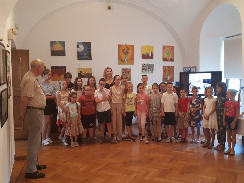 Art exhibition at Western-Slovak Museum