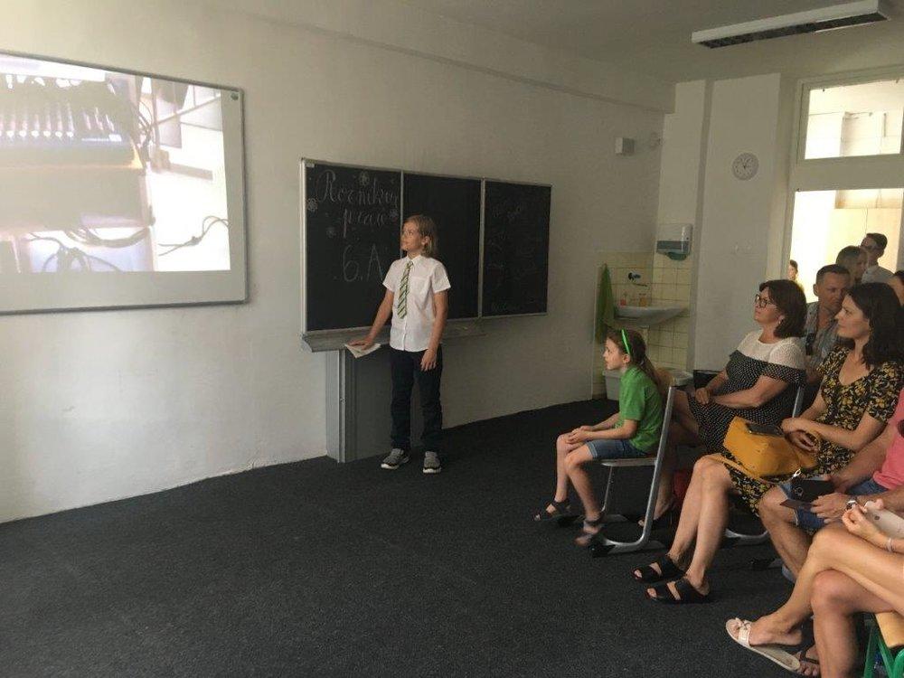 prezentácia ročníkových prác