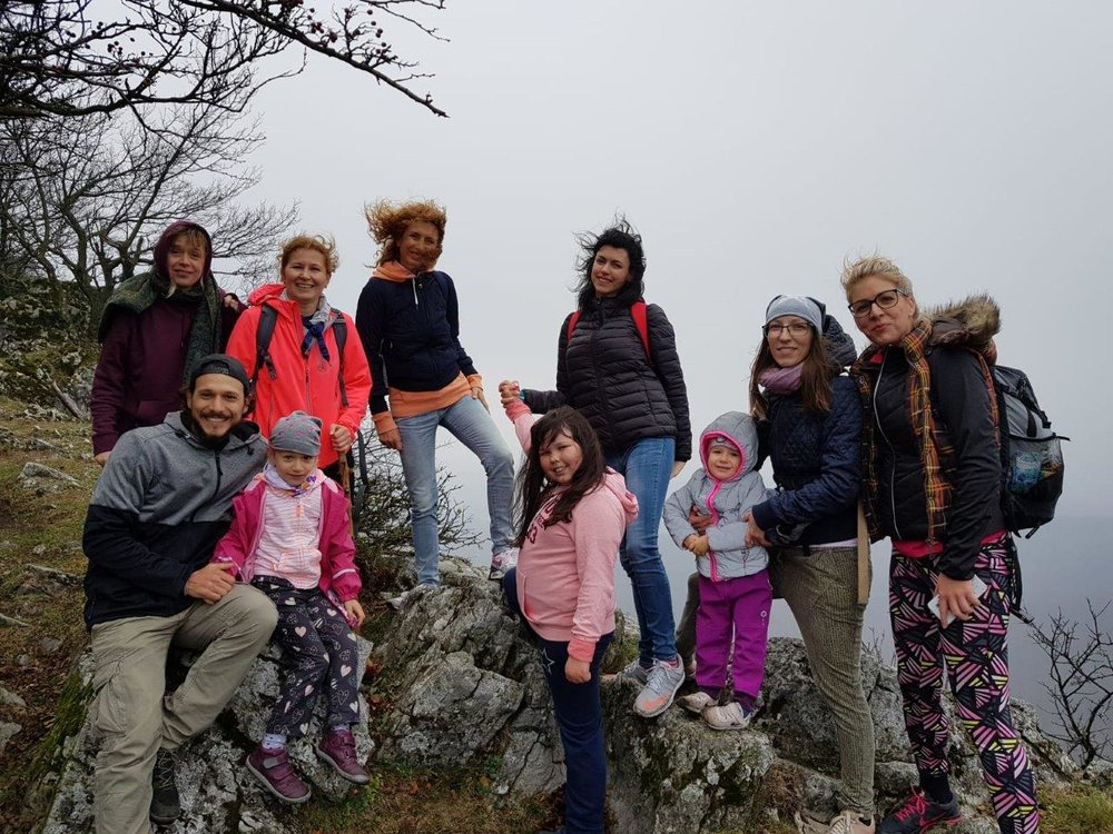 Hiking trip to Čierna skala