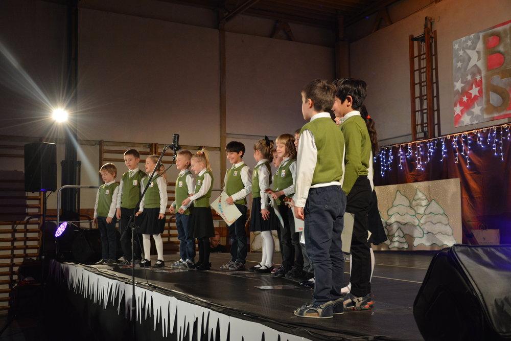 Vianočný večierok 2018 1.-2. ročník