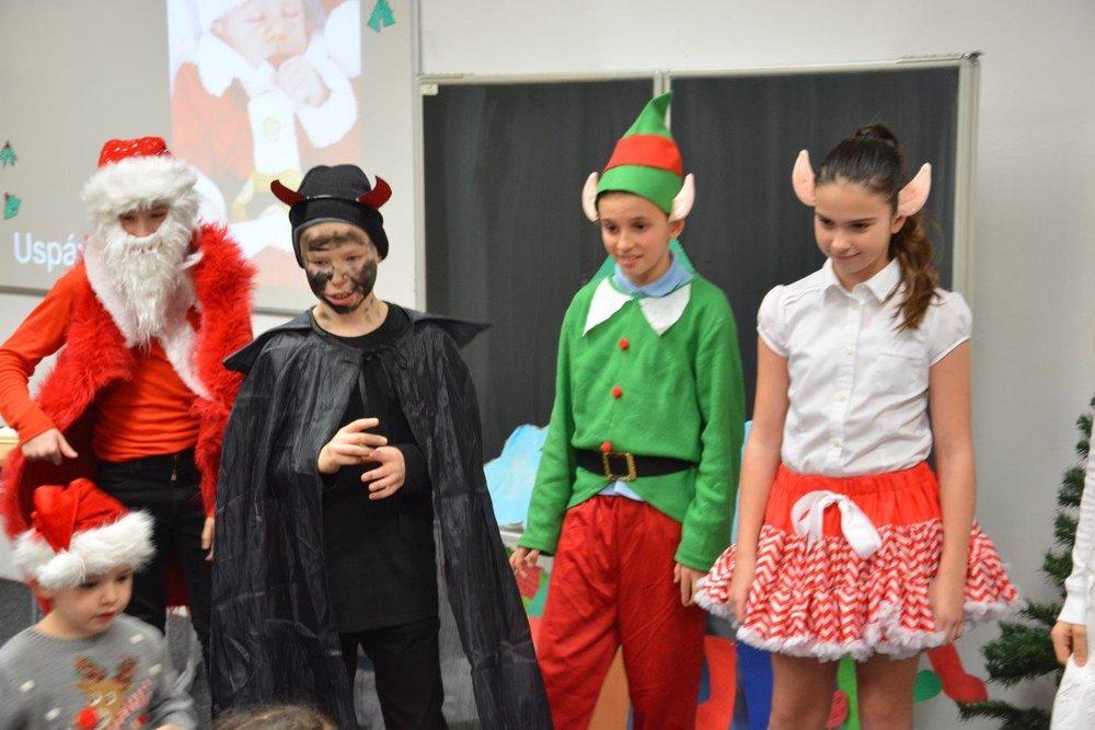 Vianočný večierok 2018 5.-9. ročník
