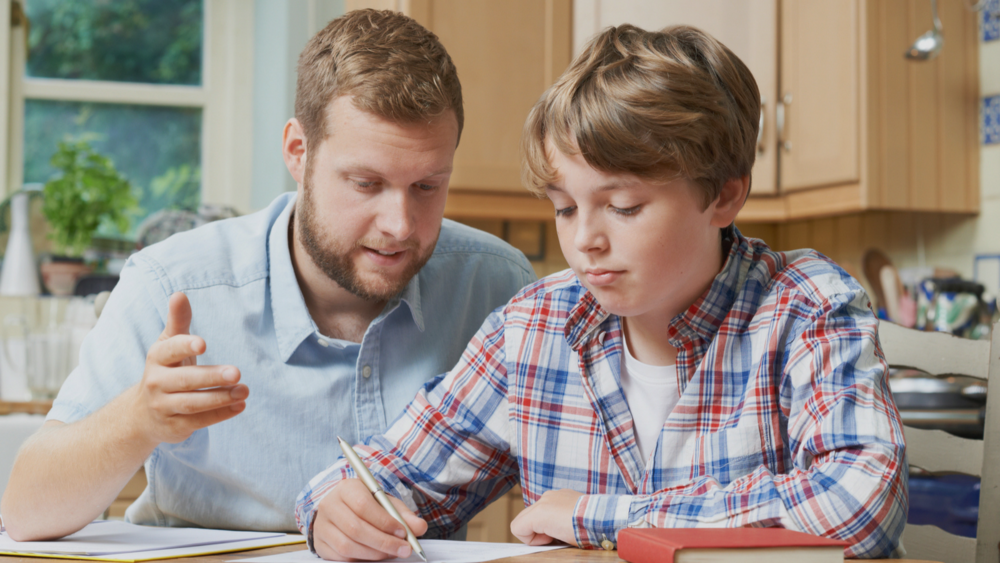 all your child needs is the personal attention  - of a professional tutor
