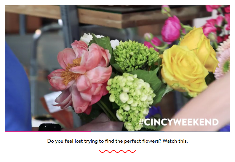 How to Pick the Perfect Flowers - Cincy Weekend May 2017
