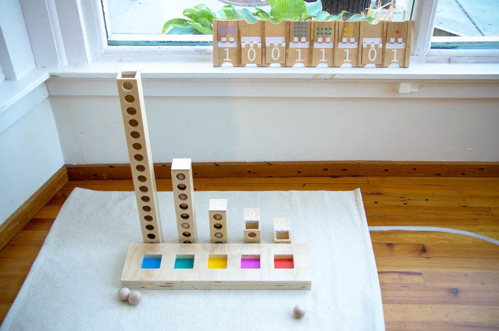 Learning Beautiful Binary Tower - Courtesy of Kimberly Smith