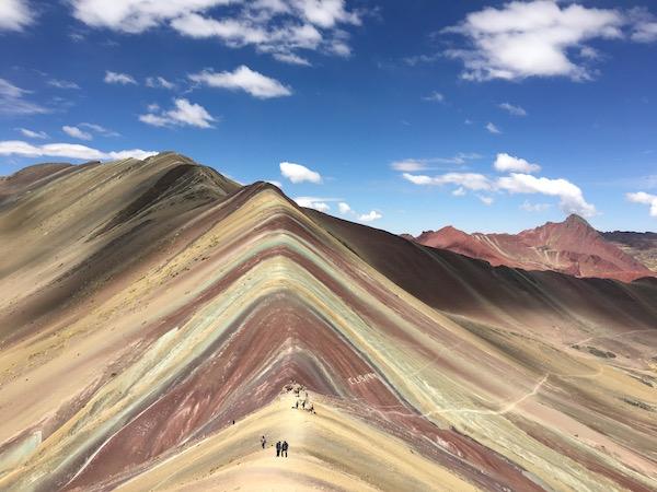 Famous Rainbow Mountain Peru