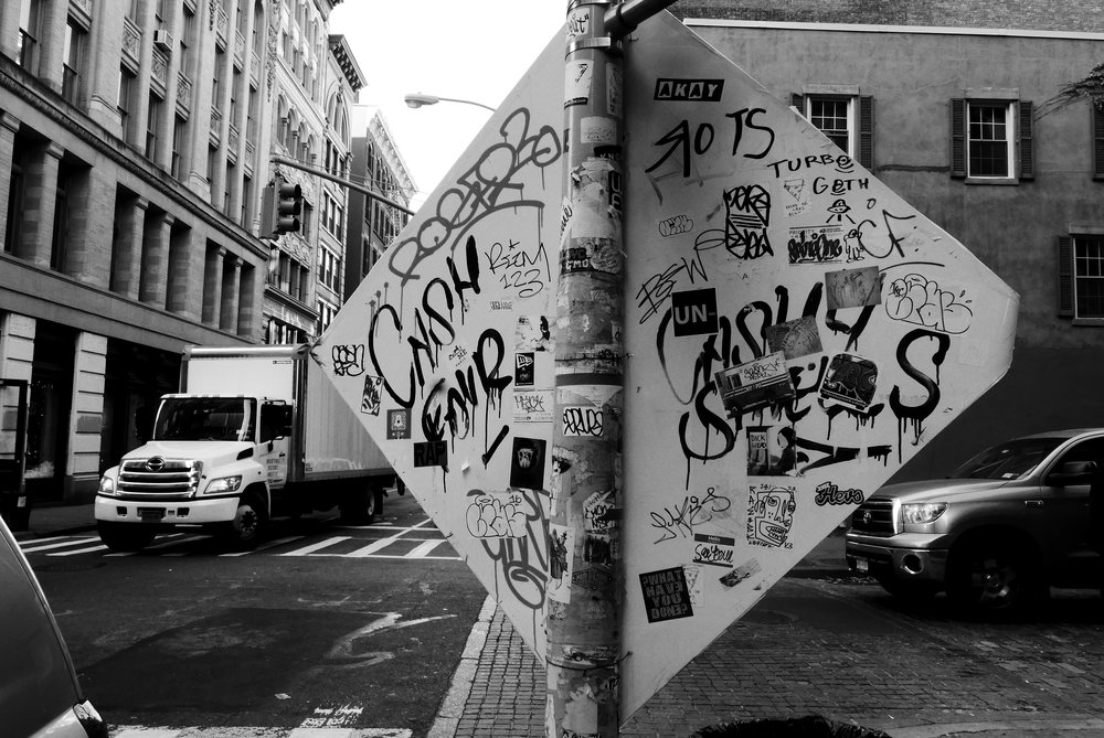 Grafitti in New York City