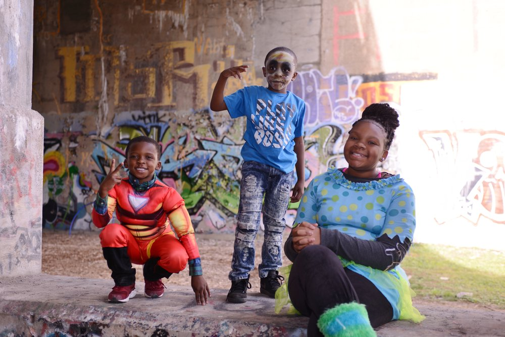 Detroit Street Art Cut Kids