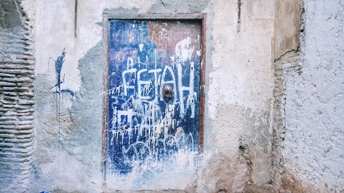 blue door in fez medina morocco.jpg
