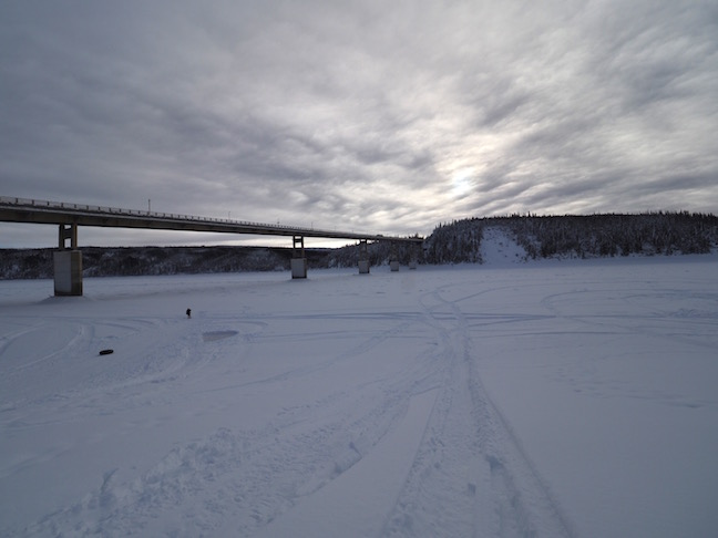 Alaskan Pipeline over the Yukon River