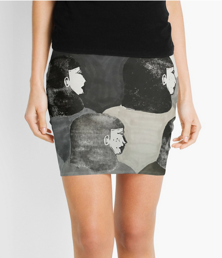 together we're strong - skirt