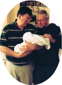 My favorite picture of my Dad and Dad-in-law the night Brooklyn was born. Grandpa and Pawpaw so proud!