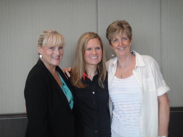My nurses, Lois and Kelly, attending my nursing school pinning ceremony in 2012.