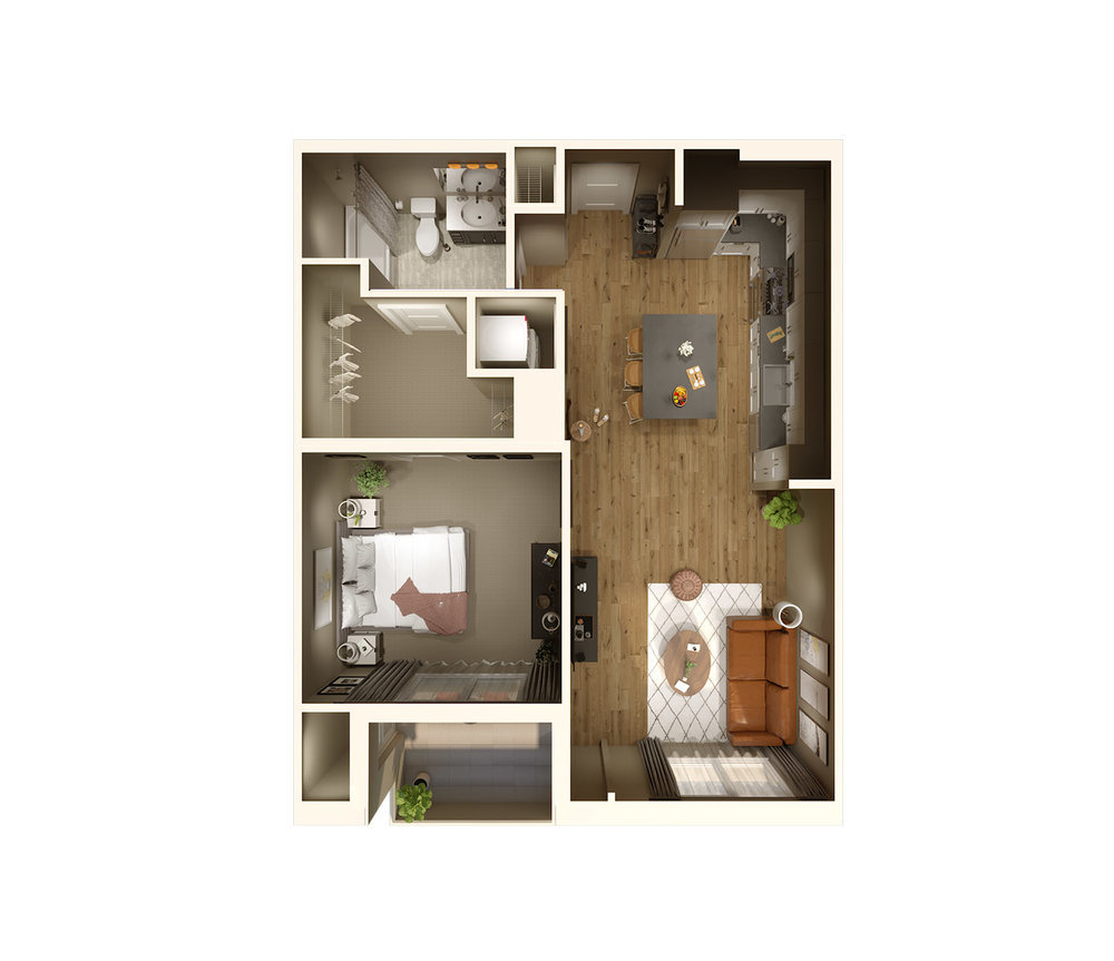 "<h1>IVY</h1><div style=""height:1px;font-size:1px;""> </div><p>1 Bedroom  
