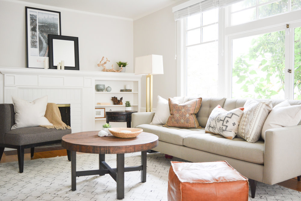 Angela Grace Design // Ashby Living Room // Berkeley, San Francisco And SF
