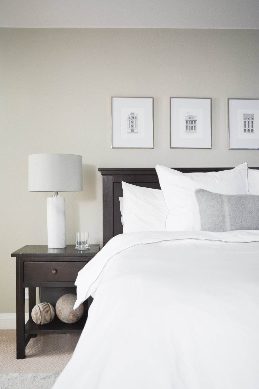 Angela Grace Design // Cambridge Master Bedroom // San Francisco and SF Bay Area Interior Designer, Decorator