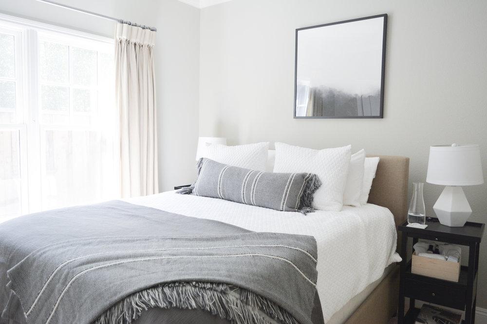 Angela Grace Design // Cambridge Guest Bedroom // San Francisco and SF Bay Area Interior Designer, Decorator