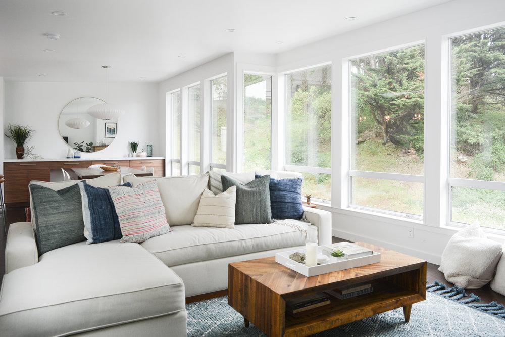 Angela Grace Design // Amber Living Room // San Francisco And SF Bay Area