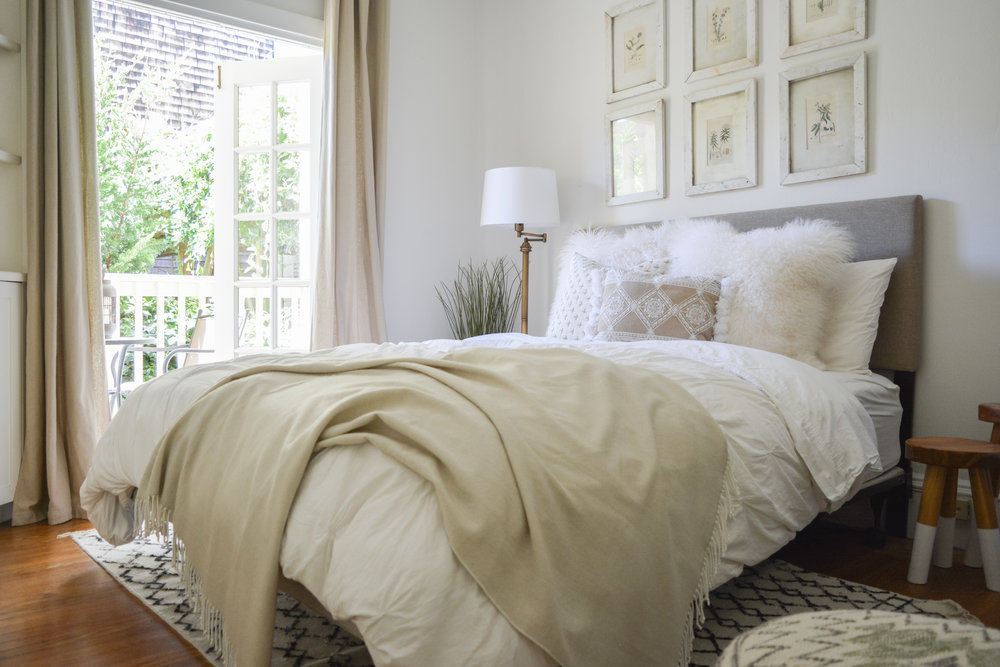 Angela Grace Design // Filbert Guest Bedroom // San Francisco and SF Bay Area Interior Designer, Decorator