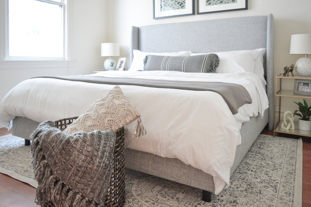 Angela Grace Design // Lombard Master Bedroom // San Francisco and SF Bay Area Interior Designer, Decorator