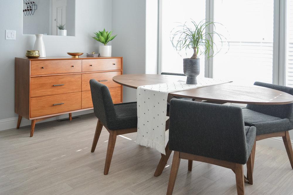 Angela Grace Design // Tasman Dining Room & Kitchen // San Francisco and SF Bay Area Interior Designer, Decorator