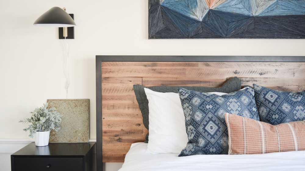 Angela Grace Design // Chestnut Master Bedroom // San Francisco and SF Bay Area Interior Designer, Decorator