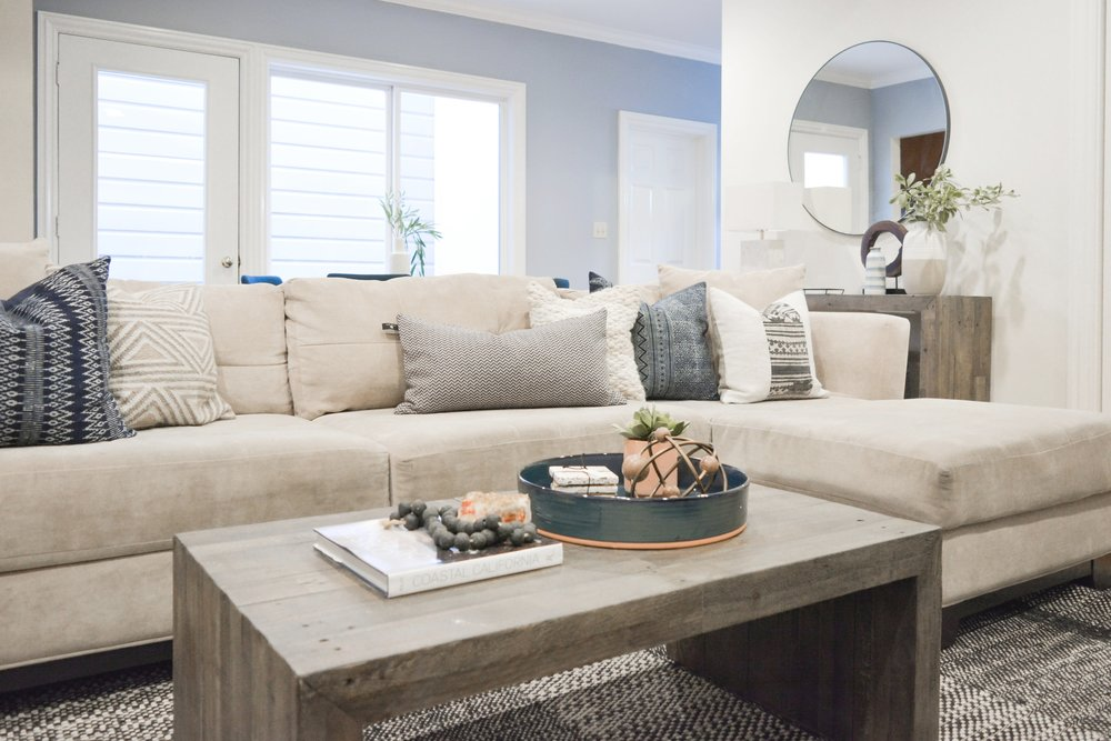Angela Grace Design // Judah Living Room and Dining // San Francisco and SF Bay Area Interior Designer, Decorator