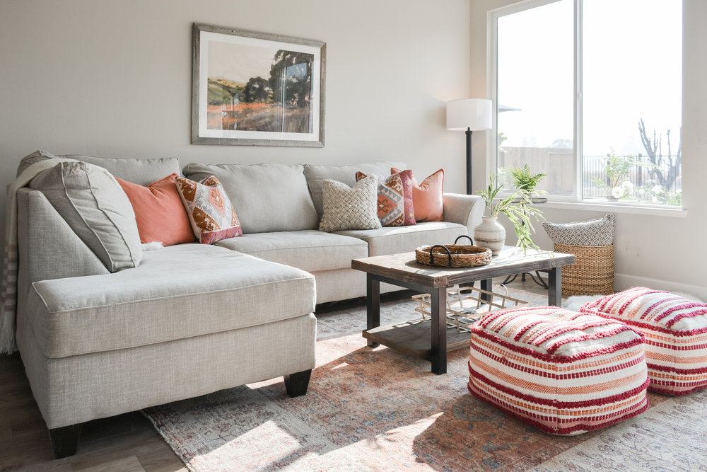 Angela Grace Design // Willowgreen Family Room // San Francisco and SF Bay Area Interior Designer, Decorator