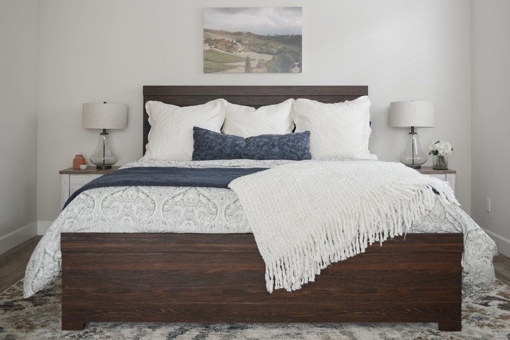 Angela Grace Design // Willowgreen Master Bedroom // San Francisco and SF Bay Area Interior Designer, Decorator