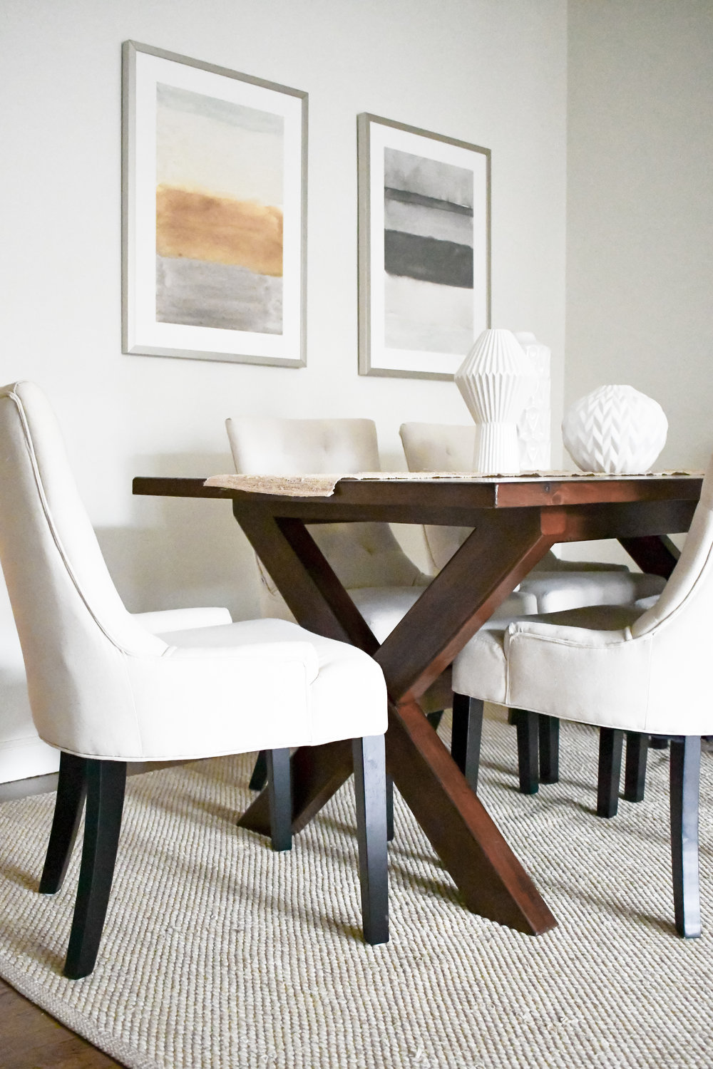 Angela Grace Design // Pierce Living and Dining Room // San Francisco and SF Bay Area Interior Designer, Decorator