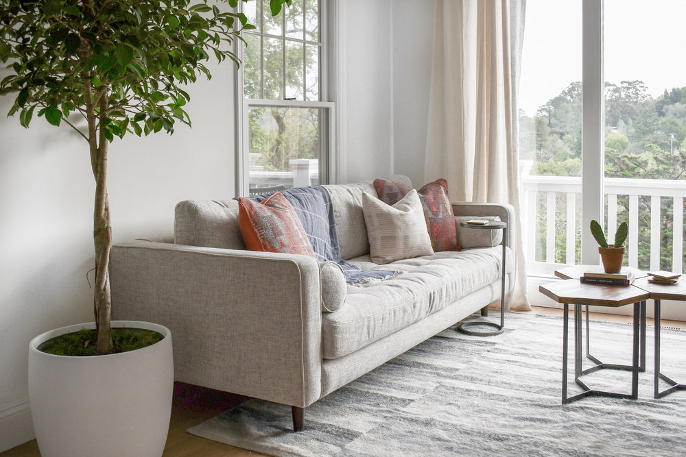 Angela Grace Design // Canyon Sunroom // San Francisco and SF Bay Area Interior Designer, Decorator