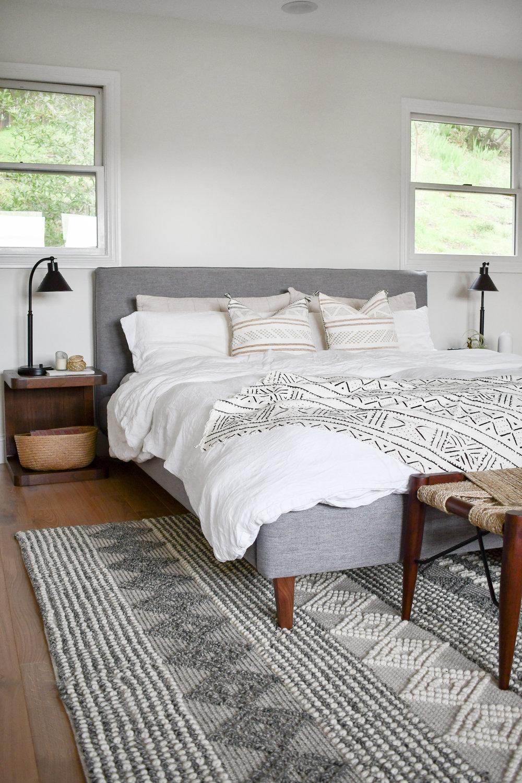 Angela Grace Design // Canyon Master Bedroom // San Francisco and SF Bay Area Interior Designer, Decorator