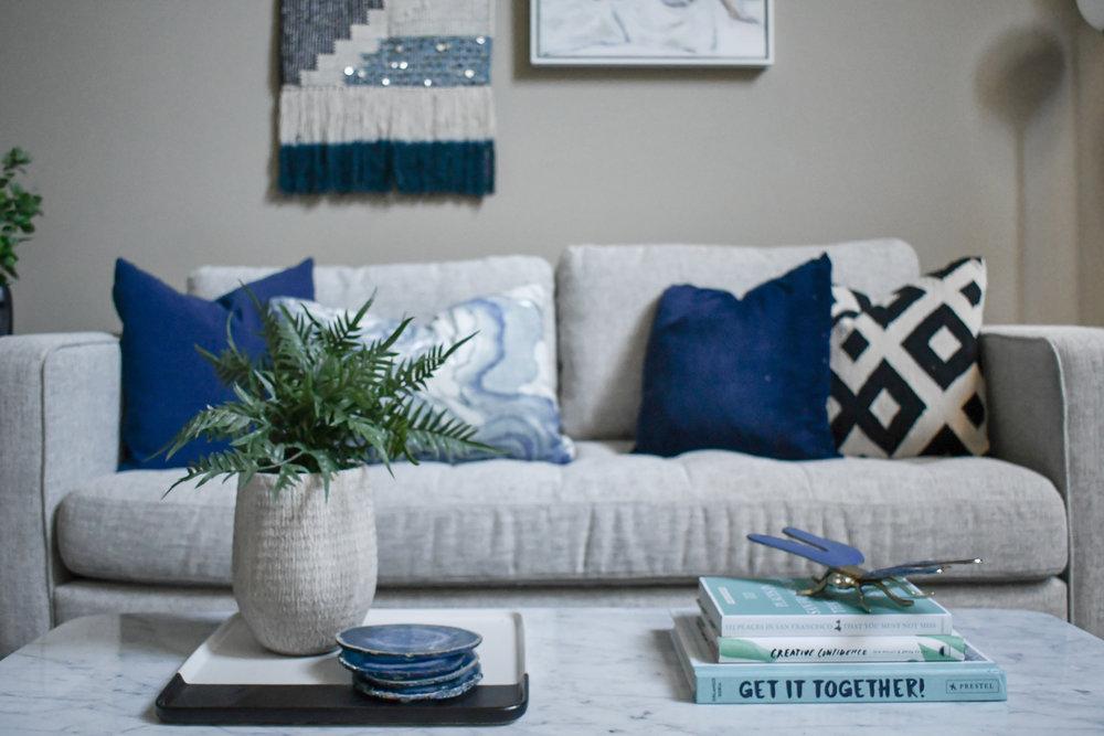 Angela Grace Design // Potrero Living and Dining Room // San Francisco and SF Bay Area Interior Designer, Decorator