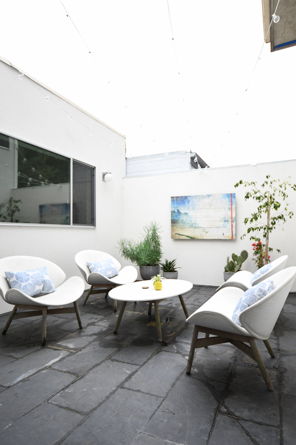 Angela Grace Design // Amber Courtyard Outdoor Patio // San Francisco and SF Bay Area Interior Designer, Decorator